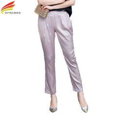 New Arrivals Fashion Harem Pants 2017 Summer Loose Casual Pants 4XL Plus Size Korean Style Pantalon Femme Chiffon Pants Women