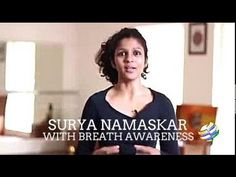 Surya Namaskar Part-2 Breath Awareness - YouTube