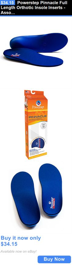 Other Orthopedic Products: Powerstep Pinnacle Full Length Orthotic Insole Inserts -Assorted Sizes Brand New BUY IT NOW ONLY: $34.15