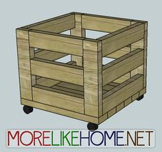 morelikehome uploaded this image to days See the album on Photobucket. & Storage Bin | Do It Yourself Home Projects from Ana White | Storage ...