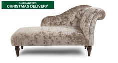DFS Chaise Longue Paloma Add a hint of Regency elegance to your bedroom with this decadent, crushed velvet bed with classic button details. Chaise Lounge Bedroom, Velvet Chaise Lounge, Bedroom Stools, Bedroom Chair, Bedroom Furniture, Bedroom Decor, Master Bedroom, Dream Bedroom, Sofa Bed