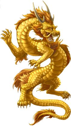 Chinese Dragon Gold