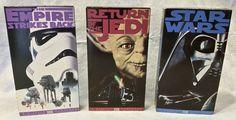 1995 Star Wars Original Trilogy FOX Video VHS Set