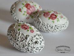 Kreatív Hobby - Húsvéti tojás 3D-s mintával