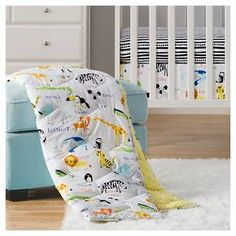 Sabrina Soto™ Safari Crib Bedding Set (3pc) - Multi-Colored : Target