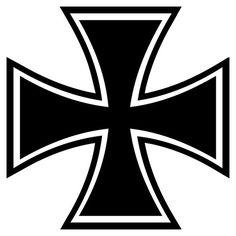 29 Best Iron Crosses Images In 2019 Maltese Cross Skulls Skull