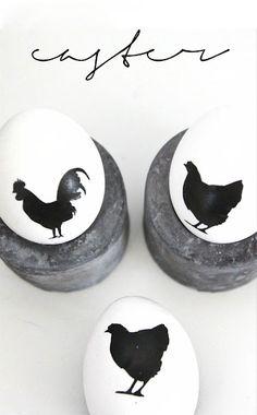 Easy DIY easter egg decorations