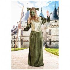 Disfraces Disney mujer   Disfraz de Fiona. Contiene vestido adornado y diadema con orejas. Talla M. 16,95€ #fiona #ogro #disfrazfiona #disfrazogro #disfraz #disney #disfraces #disfrazdisney