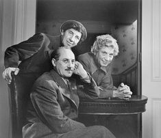 """""""The Marx Brothers"""" (1948)-Yousuf Karsh"""