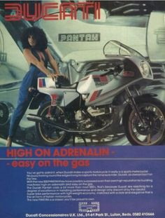 Ducati – the marquis Ducati Pantah, Ducati Motorcycles, Brochures, Motorbikes, Advertising, Ads, Posters, Marquis, Vintage