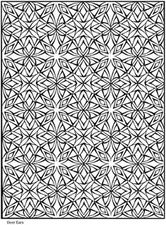 Creative Haven Lotus Designs Dover Publications Sample