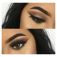 Perfect Winged Eyeliner ❤ liked on Polyvore featuring beauty products, makeup, eye makeup, eyeliner, eyes and beauty