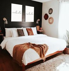 Cozy Bedroom, Bedroom Inspo, Bedroom Decor, Men Bedroom, White Bedroom, Bedroom Ideas, Bedroom Modern, Decorating A Bedroom, Childrens Bedroom