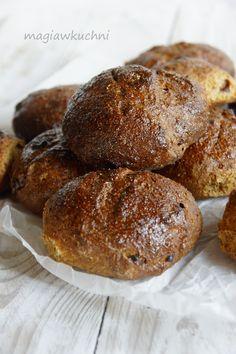 Tureckie bułeczki Muffin, Bread, Breakfast, Food, Morning Coffee, Brot, Essen, Muffins, Baking