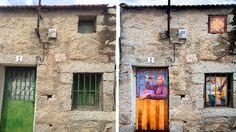 Casas con vida. Arte urbano
