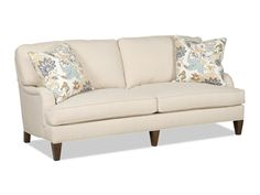 Shop for Sam Moore Jenner 2 Over 2 Sofa, 7014-001, and other Living Room Sofas at Woodley's Furniture in Colorado Springs, Fort Collins, Longmont, Lakewood, Centennial, Northglenn. The Sam Moore Upholstery Collection features a mix of frames which are sure to fit a variety of lifestyles. Every series features blendown seat cushions and pillows for added comfort.