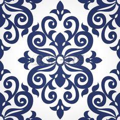 矢量模式無縫的維多利亞風格的對比色。元素的設計。觀賞背景。裝飾壁紙,圖案填充,網頁背景,表面紋理,經典的面料。 photo