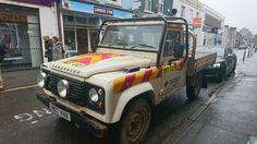 Land Rover Defender SWB Tipper