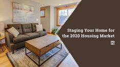 Staging Your Home for the 2020 Housing Market: If you're planning to sell your house, proper staging can make a huge difference. It's important to keep in mind… Home Staging, Selling Your House, Real Estate Tips, Flooring Options, Home Ownership, Big Houses, Home Hacks, Home Look, Estate Homes