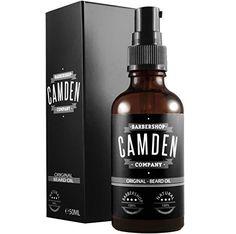 Camden Barbershop Company: Huile à Barbe 'ORIGINAL': Soin de barbe naturel & parfum frais, avec action assouplissante (1 x 50 ml) - Shop
