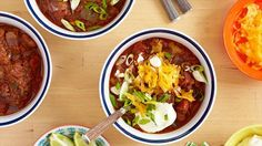 Pat's Famous Beef and Pork Chili Recipe : Patrick and Gina Neely : Food Network