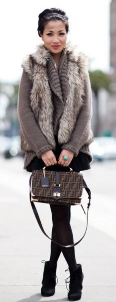 fur fur fur, so luxurious #fashaven