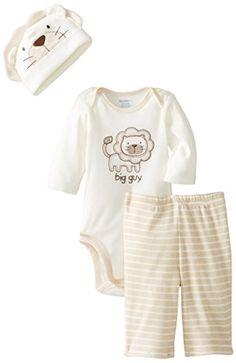 9€ amazon Gerber Baby-Boys Newborn 3 Piece Long Sleeve Bodysuit Pant and Cap, Jungle Animals, 3-6 Months Gerber http://www.amazon.com/dp/B00KJDNMO4/ref=cm_sw_r_pi_dp_0reEub1670F67