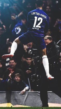 Chelsea Football, Chelsea Fc, Ruben Loftus Cheek, Blue Flag, Football Design, Football Wallpaper, Football Players, Blues, Pride