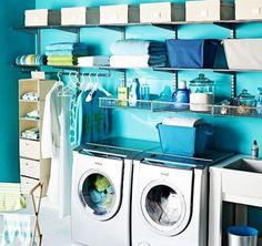 Decorar uma lavanderia retrô6