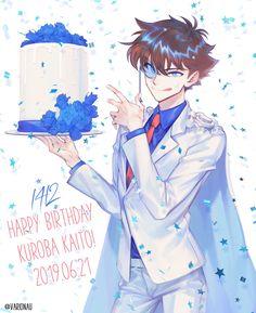 Conan, Otaku Anime, Anime Art, Detective, Kaito Kuroba, Kaito Kid, Gosho Aoyama, Kudo Shinichi, Magic Kaito