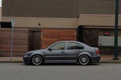 VW GLI Mk4 Jetta #Parked #Street #Lowered