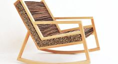 HALUZ Rocking Chair by Studio Vacek  Hometone