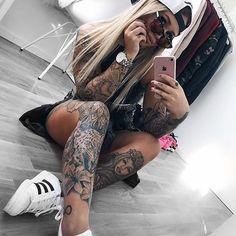 Las chicas mas lindas del mundo con tatuajes