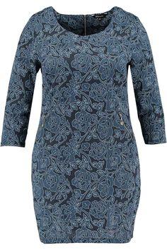 Dress | Blue | Lace | Fashion | Plussize fashion | Kanten jurk