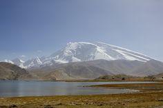 Muztagh Ata from Karakul Lake
