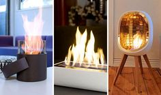 Nothing creates an instant holiday vibe like a cozy fireplace. While we love the grand fireplaces that come in gorgeous houses and apartments, the life of a renter in a city makes fireplaces pretty tough to come by. Here are 10 portable fireplaces for even the most petite places.