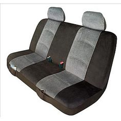 Elegant  Universal Bench Seat Cover - Micro/Tweed Gray Truck Seat Covers, Bench Seat Covers, Country Seat Covers, Car Accessories For Guys, Moving To Florida, Wheel Cover, Gaming Chair, Tweed, Baby Car Seats