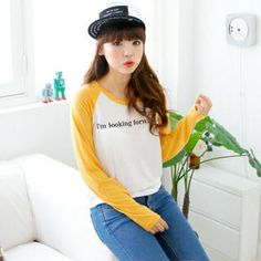Buy 'Cocopop – Lettering Raglan-Sleeve T-Shirt' at YesStyle.com plus more South Korea items and get Free International Shipping on qualifying orders.