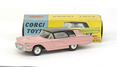 Mettoy Corgi Toys No.214M Ford Thunderbird Hard-top