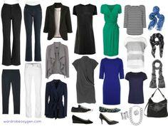 Capsule wardrobe for women over 50: no fashion victim no frump via Wardrobe Oxygen