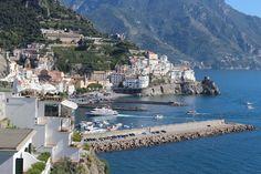 Amafi Coast, Italy beautiful coast lines!!!