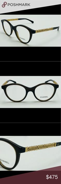 ae8647184a5 New Havana CHANEL RX Optical Frame 3363-B New! Chanel full rim acetate  optical