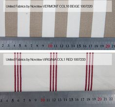 Vermont Col 16 Beige / Virginia Col 1 Röd Från LC Möbler Vermont Col 16 Beige / Virginia Col 1 Red From LC Furniture