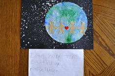 I HEART CRAFTY THINGS: Earth Day Craft with Writing Prompt