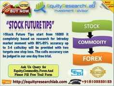 https://flic.kr/p/S1qrda | equity research lab special offer 25 march 2017 | Stock Future Tips start from 16000 it completely based on research for intraday market moment with 80%-85% accuracy up to 3-4 calls/day will be provided with two targets one stop loss. The calls accuracy can be judged in our one day free trial.