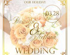 "Check out new work on my @Behance portfolio: ""Wedding invitation"" http://be.net/gallery/58366617/Wedding-invitation"