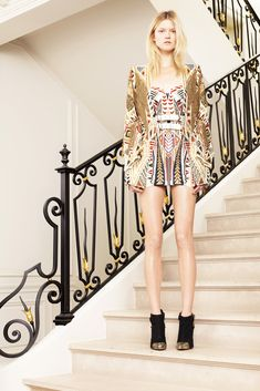 Balmain Resort 2012 - Collection - Gallery - Look 1 - Style.com