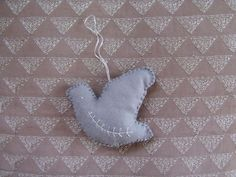 Dove ornament template and DIY instructions