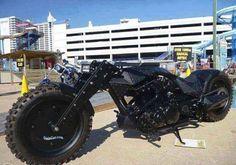 I love bikes,babes and guns.