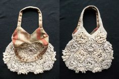 Crocheted bag by Dawn Holbrook